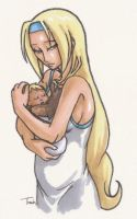 Millia and Baby Tasha... Again by BeagleTsuin