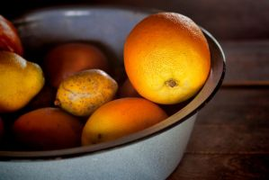 Citrus in a Bowl by TomFawls