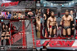 WWE Raw June 2013 DVD Cover by Chirantha