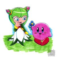 Crossover : Cosmo and Kirby by aprict