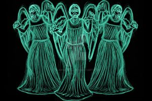 don't blink weeping angels by AlanSchell