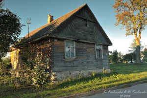 Old wooden house by Dark-Raptor