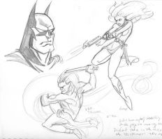 Bruce Timm Study by Theamat