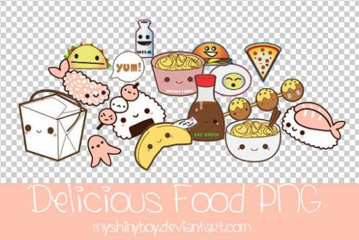 Delicious Food PNG by MyShinyBoy