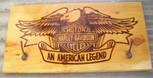 Harley commision coatrack by WOODEWYTCH