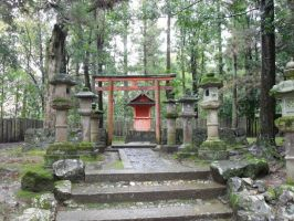Shrine by mackymole