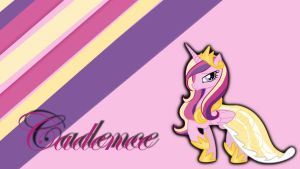 MLP:FiM Princess Cadence wallpaper by Apoljak