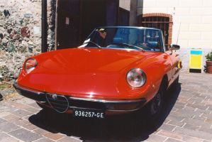 1971 Alfa Romeo Duetto 1.3 by GladiatorRomanus