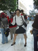 Katsucon 2012: RED Medic by LusheetaLaputa