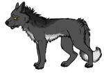 Wolf Adoptable by fringedfox