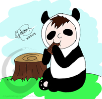 Littel Panda by gabrielcrypto