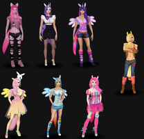 Mlp Avatar Outfits by AnimeEmm