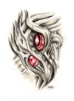 Biomech eye by crackroach