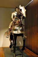 Knight on horse 2 by ApteryxStock