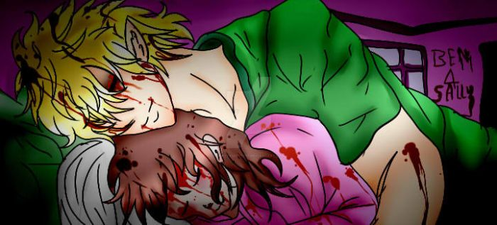 Ben Drowned X Sally by PrettySkitty16