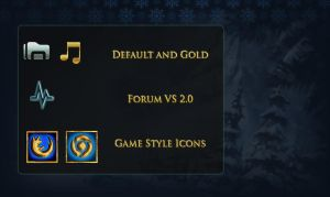 League of Legends icons v5 by yorgash