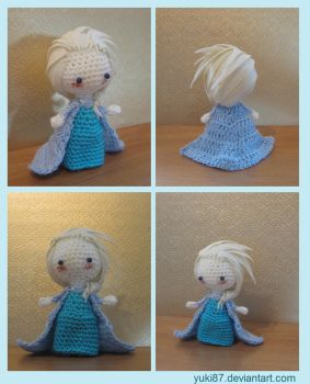 Elsa of Arendelle, from Frozen by Yuki87