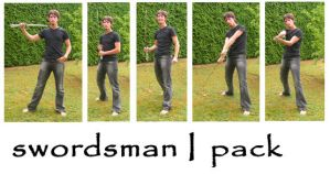 swordsman I pack by syccas-stock