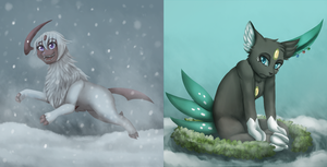 PokeXmas: Day 1 and 2 by MiaMaha
