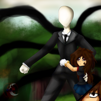 slenderman,they are the ones that are bothering me by gisselle50