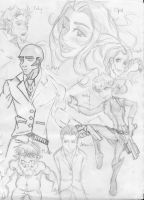 Artemis Fowl Characters by swimmingtheatregeek