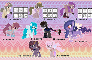 . : Random Pony adopts (OPEN) : . by starchase-adopts