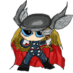 Chibi Thor by ily4ever95