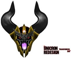 UNICRON'S head Redesign by THE-CHAOS-BRINGER