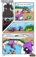 LoLz Comic Contest Entry: Penalty Game by everwander
