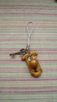 Door Knob phone charm by PORGEcreations