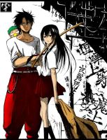 Beelzebub Color:Duo Invencible by KageShadow10