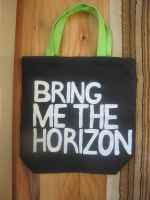 Bring Me the Horizon front by CoveredInCake