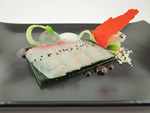 Red Snapper - Sashimi, Traditional Accompaniments by TheSilverChef