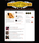 The Socialite Column WordPress Theme by blondishnet