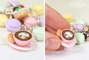 French desserts - cappuccino by OrionaJewelry