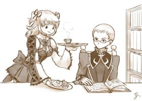 Sketches For Whatever - Cheria and Hubert by Sora-G-Silverwind