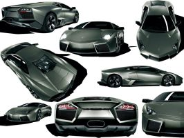 Lamborghini Reventon Wallpaper by nikita144
