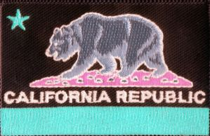 California Flag Patch Inverted by 101boy
