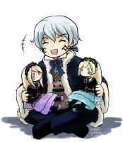 Roman - Hiver and his dolls by arashi-yukawa