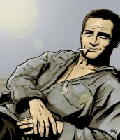 COOL HAND LUKE by mister-bones