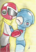 Rockman x Blues by mimirao