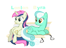 Lonlon and Byra by Akamaru01