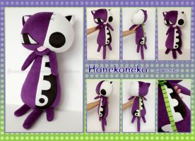 Honekoneko plush:::::: by Witchiko