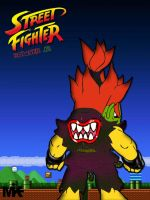 Street Fighter Bowser Jr by MightyMusc