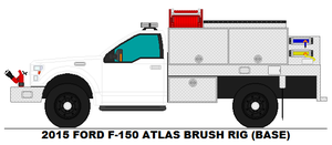 Ford F-150 Atlas Brush Rig base by MisterPSYCHOPATH3001