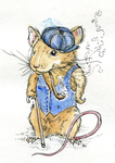 Dapper Mouse by FinchFight