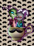 Two dorks in a Teacup by SweetSinster