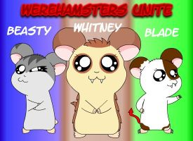 -RQ- Werehamsters Unite by Beasty-Kun