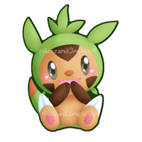 Chespin by Clinkorz