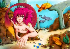 Under the sea by Junie-Junette